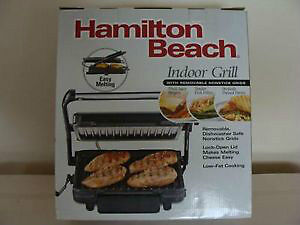 Brand New / Hamilton Beach Indoor Grill