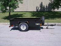 Saturn Industries 4 x 8 Utility Trailer