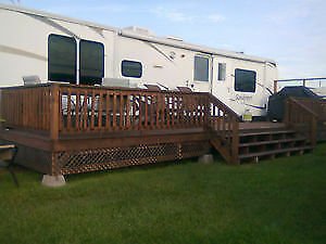 roulotte de camping a louer    camping trailer for rent