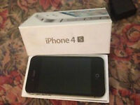 IPHONE 4S NOIR 64 GIG UNLOCK FACTORY ETAT 10/10