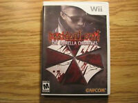 Wii Resident Evil The Umbrella Chronicles