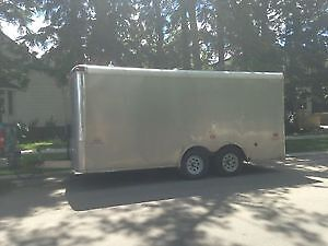 16 foot enclosed trailer