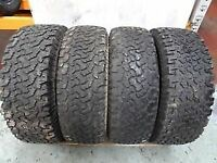 275 65 18 x 4 BF Goodrich All-Terrain T/A KO (M+S) TYRES from my Nissan Outlaw