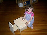 Small Childs Or Doll Table