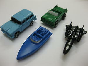 4 x MICRO MACHINES 2 x CAR BOAT & AEROPLANE RARE NEW 90s COLLECTABLE COLLECT