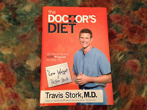 The Doctor's Diet Hard Cover Book - Travis Stork