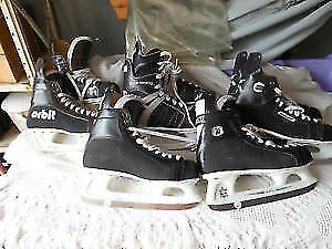 USED Hockey skates.....Vince Silvestri Atheltic Wear