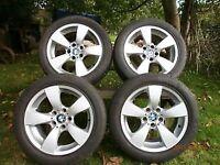 Genuine BMW E60 17 alloy wheels