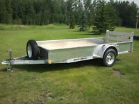 LOOK AT THIS! 5' x 12' - 2014 ALUMINUM Utility Trailer with Ramp