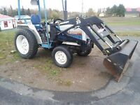 1988 mitsoubishi 30 hp diesel come with front loader....