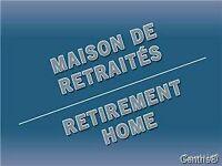 Residence pour personnes agees a vendre a Saint Jerome