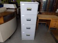 20% OFF ALL ITEMS SALE - Metal 'Triumph' 4 drawer filing cabinet - Can Deliver For £19