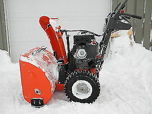Un wanted snow blower