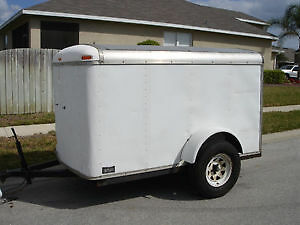 Wanted 10-12' Enclosed Trailer
