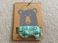 Boys green neck bow tie from Next Brand New size 11-12-13 years