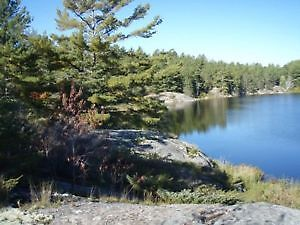 In the beautiful French River area