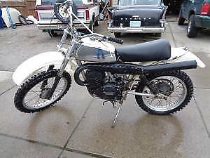 buying blown up vintage husky dirtbike projects