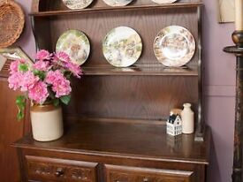 FURTHER REDUCTION! Dutch Dresser With Cupoards & Drawers- Can Deliver For £19