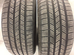 2 GOODYEAR EAGLE LS 225 65 16 SUMMER ALL TIRES NO TEXT