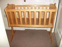 Baby r Us swinging crib