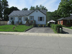 Main Floor in well maintained bungalow on quiet street