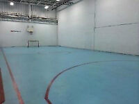 Basketball, Ball hockey, dodgeball, tennis and more! Best rates