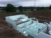 **Foundations-Garages-Patio-ICF-Grade Beam-Natural Stone*