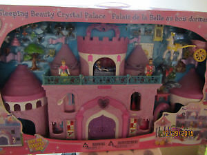 Sleeping Beauty Crystal Castle / Palace Barbie Doll House NEW