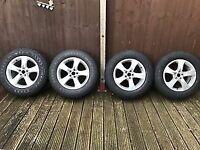 Alloy Wheels, Pirelli Winter Carving Edge Winter Tyres, 235/65/17