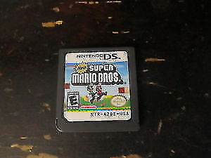 Nintendo DS Super Mario video games used