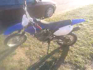 09 Yamaha TTR 125, great shape, well maintained