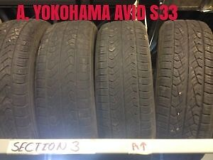 """Used Sets of Tires, 15"""", 17"""", 18"""", Full Sets of Four"""
