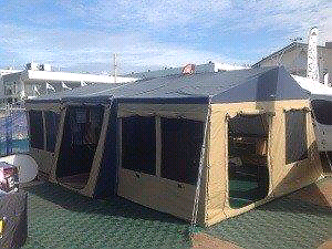 Oztrail explorer large family size camper trailer  near NEW. Jilliby Wyong Area Preview