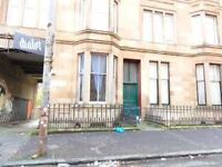 Traditional 1 bedroom basement flat ideally located in Govanhill Avail 24th March 17