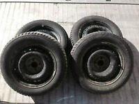 Winter Tires on Rims for Sale – 185/65/14