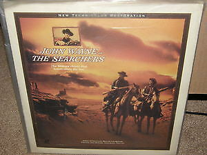 The Searchers Laserdisc-John Wayne Western Classic film