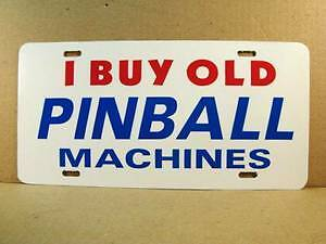LOOKING FOR OLD PINBALL MACHINES