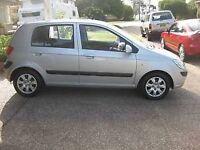 Hyundai Getz petrol hatchback automatic 2005