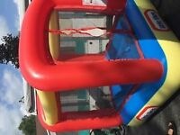 little tikes bounce castle