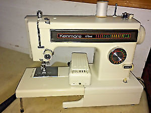 Singer sewing machine, also a Kenmore