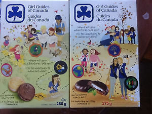 Girl Guide Cookies & Bottle Donations