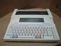 Canon Starwriter 30 portable word-processor.
