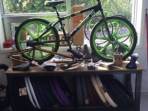 """NEW STOCK"" BMX BIKES, BMX PARTS & MORE @ SAM'S BMX SHOP.."