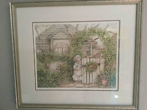 Catherine Simpson-custom-framed numbered print-Ivy Cottage