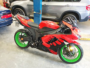 08 ninja zx6r only 5700km trade 4 2 stroke dirt bike