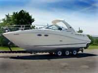 Clean Fresh Water Low Hour Sea Ray 290 Sundancer