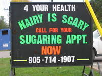 SUGARING FOR MEN AND WOMEN WELLAND/FONTHILL HAIR REMOVAL