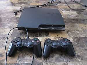 PS3 + 22 Games, 2 Controllers ($200 or Best Offer)