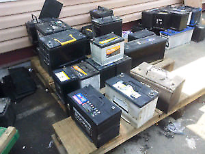 Free pickup of used Car / Truck Batteries