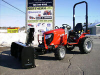 TYM254 Tractor with Bercomac Front End Snowblower